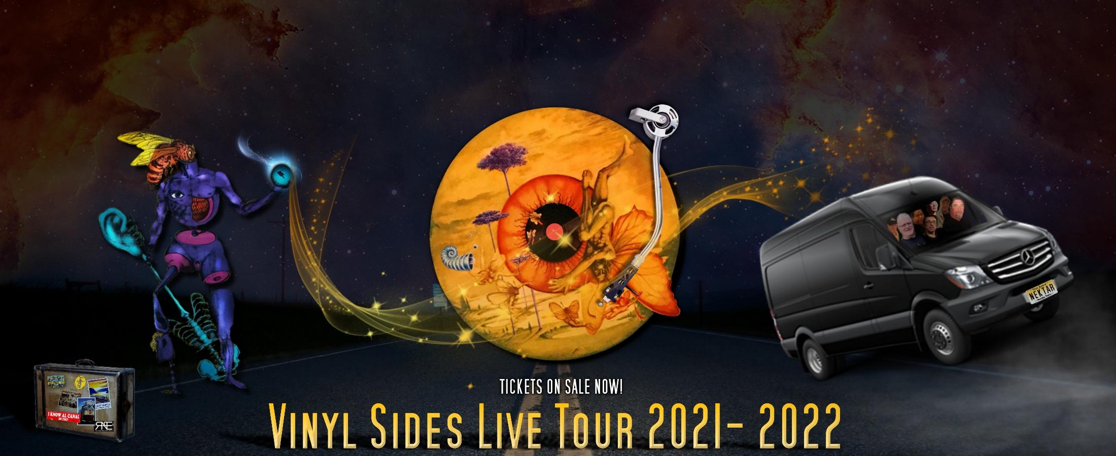 Nektar tour 2021-2022 vinyl sides live